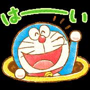 สติ๊กเกอร์ไลน์ Doraemon Greeting Stickers