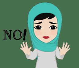 Muslim ordinary life stickers sticker #14772803