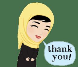 Muslim ordinary life stickers sticker #14772807