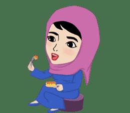 Muslim ordinary life stickers sticker #14772808