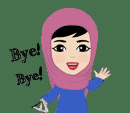 Muslim ordinary life stickers sticker #14772810