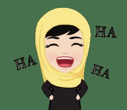 Muslim ordinary life stickers sticker #14772813