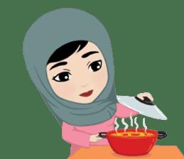 Muslim ordinary life stickers sticker #14772815