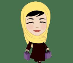 Muslim ordinary life stickers sticker #14772817