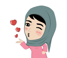 Muslim ordinary life stickers sticker #14772821