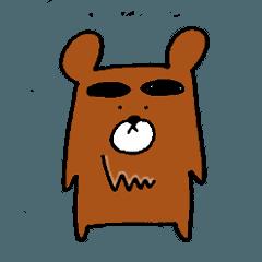 Big-Eyebrows bear