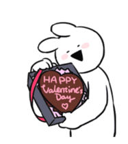 Extremely Rabbit Animated [Valentine] sticker #14780377