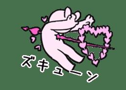 Extremely Rabbit Animated [Valentine] sticker #14780386