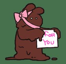Extremely Rabbit Animated [Valentine] sticker #14780389