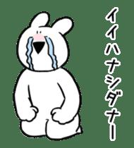 Extremely Rabbit Animated [Valentine] sticker #14780397