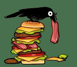 Of crow sticker #14787523