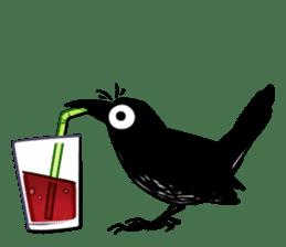 Of crow sticker #14787525