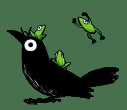 Of crow sticker #14787526