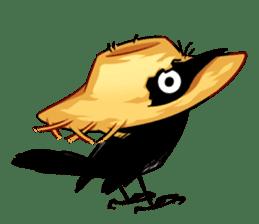 Of crow sticker #14787527