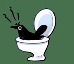 Of crow sticker #14787528