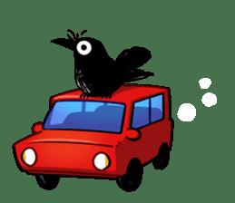 Of crow sticker #14787532