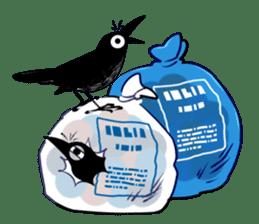 Of crow sticker #14787534