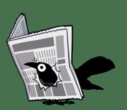 Of crow sticker #14787535