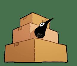 Of crow sticker #14787536