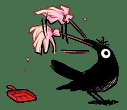 Of crow sticker #14787537