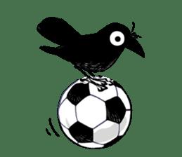 Of crow sticker #14787539