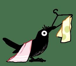 Of crow sticker #14787540