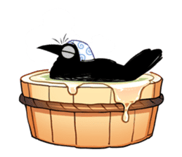 Of crow sticker #14787541