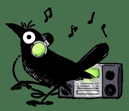 Of crow sticker #14787545