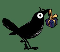 Of crow sticker #14787547