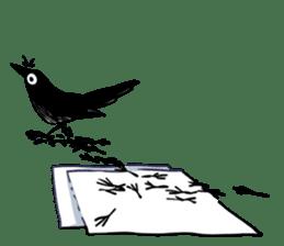 Of crow sticker #14787548