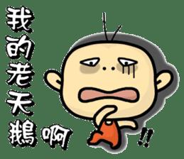 Hello,I'm Wang. sticker #14788094