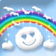 動く雲!ほっこり可愛い青空メッセージ