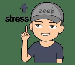 ZEEB : Anak Zeeb (Zeeblogi) sticker #14795008