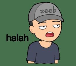 ZEEB : Anak Zeeb (Zeeblogi) sticker #14795011