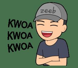 ZEEB : Anak Zeeb (Zeeblogi) sticker #14795013