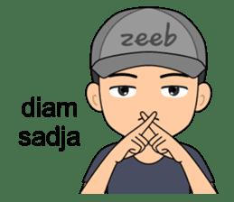 ZEEB : Anak Zeeb (Zeeblogi) sticker #14795018