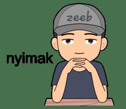 ZEEB : Anak Zeeb (Zeeblogi) sticker #14795021