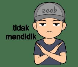 ZEEB : Anak Zeeb (Zeeblogi) sticker #14795033