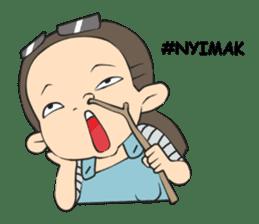 Nyun Behah sticker #14797147
