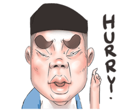 Mr.Tue 2 (English Version) sticker #14801354