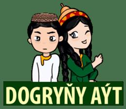 Leyli and Mejnun love story sticker #14805810