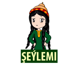 Leyli and Mejnun love story sticker #14805811