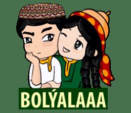 Leyli and Mejnun love story sticker #14805815