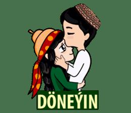 Leyli and Mejnun love story sticker #14805819