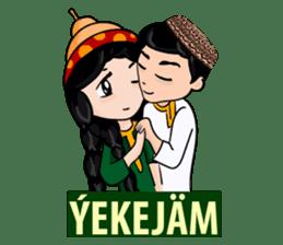 Leyli and Mejnun love story sticker #14805821