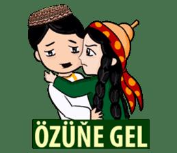 Leyli and Mejnun love story sticker #14805824