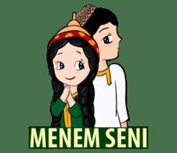 Leyli and Mejnun love story sticker #14805830
