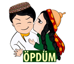 Leyli and Mejnun love story sticker #14805831