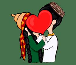 Leyli and Mejnun love story sticker #14805832