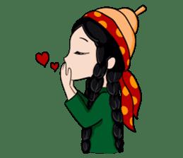 Leyli and Mejnun love story sticker #14805833